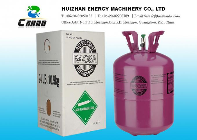 R22 Freon For Sale >> Mixed Freon HCFC Refrigerant / R408A Refrigerant Gas For R-22