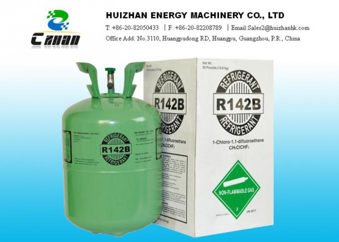 75-68-3 HCFC R142B Refrigerant Gas Used For Refrigerants , Intermediate And Etc