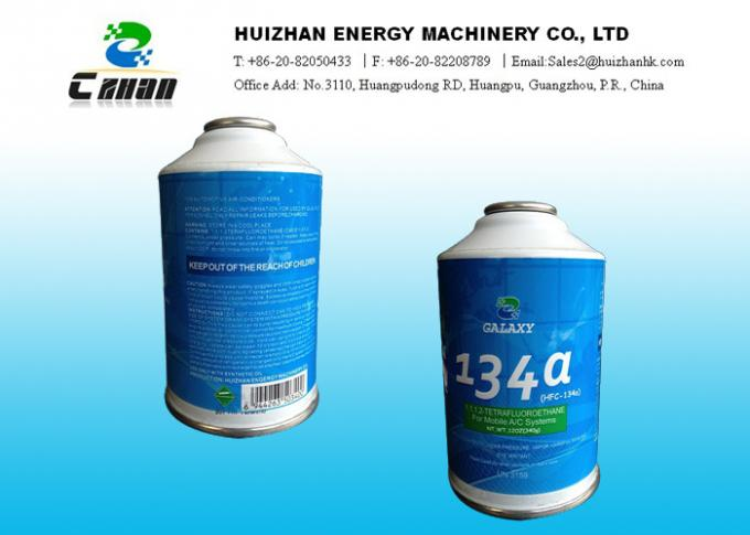 R134a Refrigerant HFC Refrigerants 99.9% Purity C2H2F4 For Domestic Refrigeration And Automobile Air Conditioners