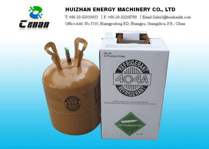 R22 And R502 Replacement Eco-friendly HFC Refrigerants R404A Refrigerant In  Small Can With High Purity