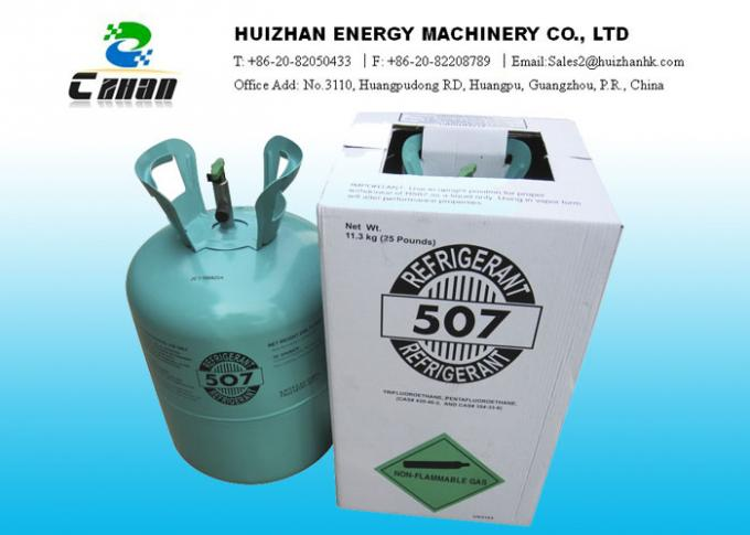 R507C HFC Refrigerants Gas N.T. 11.3KG In Disposable Cylinder Replacement For R22 And R502