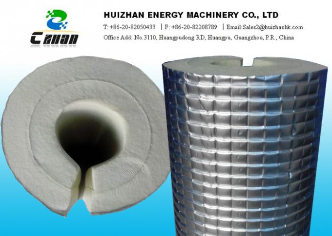 AL Foil Safe And Nontoxic Rubber Foam Air Conditioning Insulation Pipe Heat Insulation Material