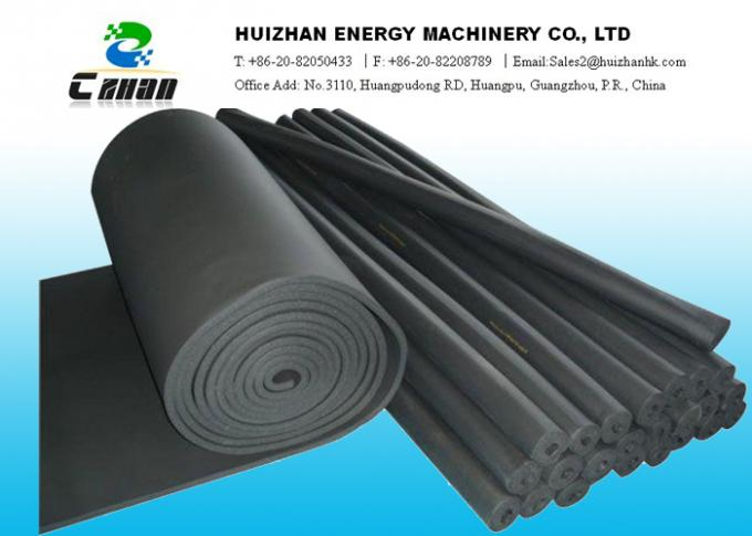 Rubber Plastic Air Conditioning Heat Insulation Sheet Fire