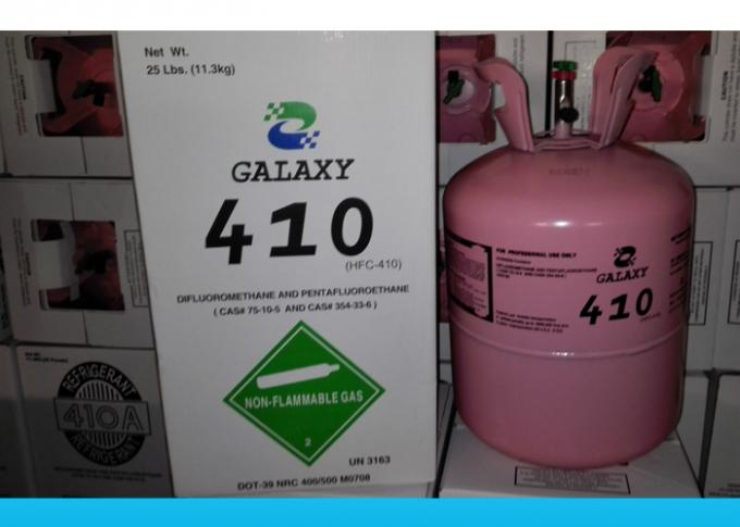 Eco friendly HFC R410A refrigerant Gas For Commercial Air Conditioners