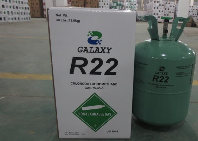 Industrial HCFC Purity Refrigerant R22 For Air Conditioning Freon Gas