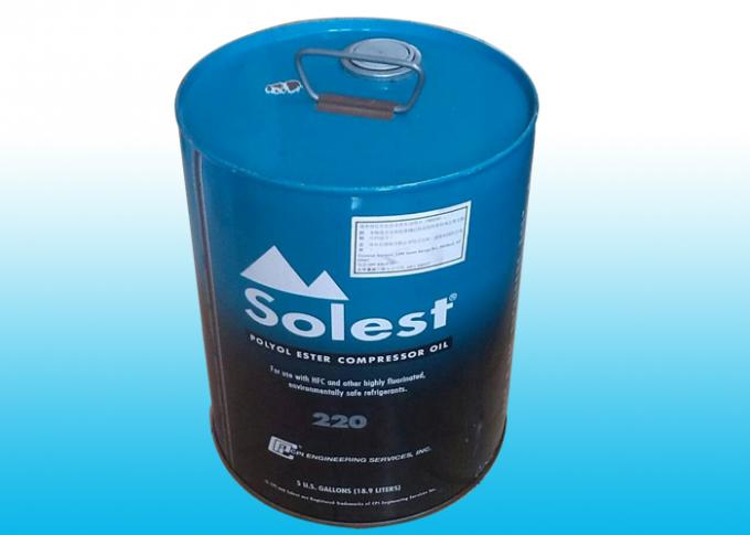Solest 220 Refrigeration Oil For Piston Screw Centrifuge Type Refrigeration