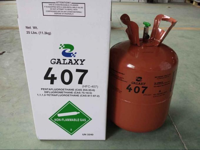 R407C HCFC Refrigerant GAS  Refrigerants Air conditioning Potential Health Effects