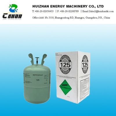 China 30LB Gas HFC Refrigerant R125 In Disposable Cylinder With 99.9% Purity supplier