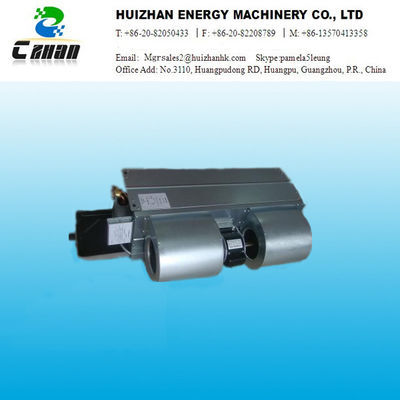 China Horizontal dark ultra quiet installed central Air Conditioner fan coi units supplier