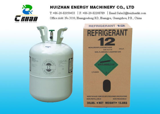 China CFC Refrigerants Freon Gas R12 For Air Conditioner , Dichlorodifluoromethane supplier