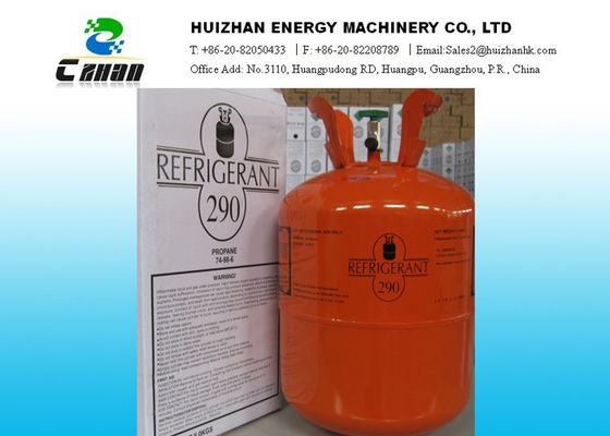 China Industrial 74-98-6 Natural Refrigerants R290 Propane Gas In Disposable Cylinder supplier