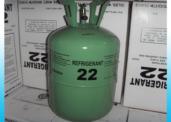 China Industrial HCFC Purity Refrigerant R22 For Air Conditioning Freon Gas supplier