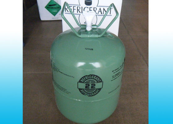 China Cas No. 75-45-6 Pure R22 Refrigerant In Can Or 13.6kg Cylinder / Chlorodifluoromethane supplier