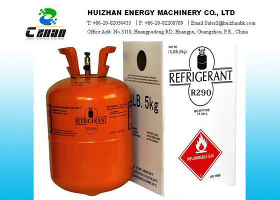 China Natural Propane Refrigerants Gas Functional Replacement for R-12 R-22 R-134a supplier
