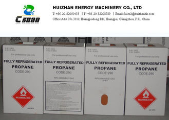 China C3H8 Gas No. 74-98-6 Natural Refrigerants R290 N.T. 10KG In Cylinder With SGS Approved supplier