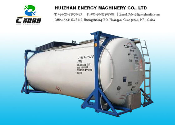 China UN No. 1969 Propane R290 Refrigerant Iso Tank For Eco friendly Gas Absorption Refrigerator supplier