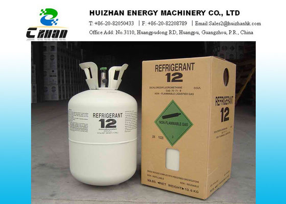 China N.T. 30LB 13.6KG CFC Refrigerants R12 Gas With High Purity For Old Or New Air Conditioner Units supplier