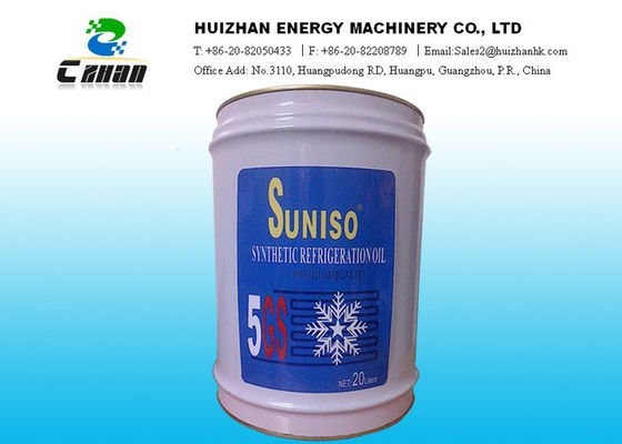 China Premium Refrigerant Oil Net 20L 5GS Suniso Oil Synthetic Refrigeration Oil supplier