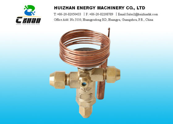 China Thermostatic Expansion Air Conditioning  Valve For Compressor Temperature Responsive Expansion Valves supplier