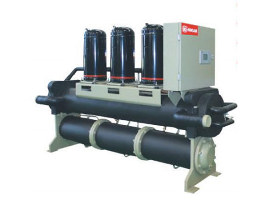 China Auto Control Independent Cooling Modular Scroll Water Chiller With Heat Pump Low Noise supplier