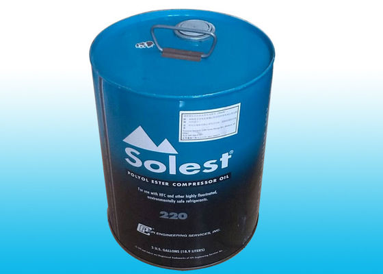 China Solest 220 Refrigeration Oil For Piston Screw Centrifuge Type Refrigeration supplier