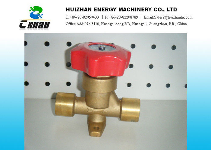 Shut Off Air Conditioning Valve Welding And Flare With Nut Type