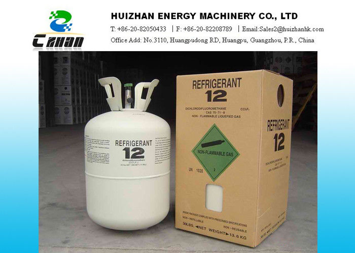 N T 30lb 13 6kg Cfc Refrigerants R12 Gas With High Purity