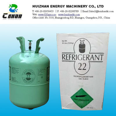 China R22 replacement refrigerants , HFC Refrigerants R22 GAS Colorless at room temperature distributor