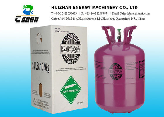 China Mixed Freon HCFC Refrigerant / R408A Refrigerant Gas For R-22 factory