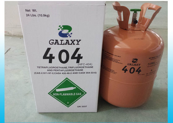 N.T. 10.9KG Industrial HFC Refrigerants UN No. 3337 R404a Refrigerant R22 And R502 Replacement