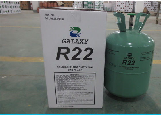 China UN1018 CHClF2 HCFC Refrigerants R22 Customized Acceptable , Refrigerant Gas factory