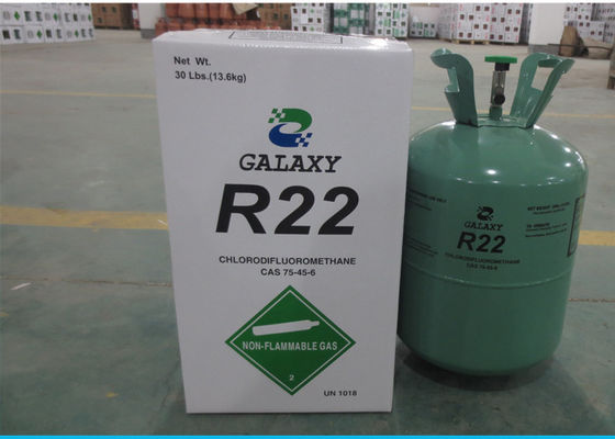 China UN1018 Cas No. 75-45-6 HCFC Refrigerants R22 With 99.98% Purity OEM Packing factory