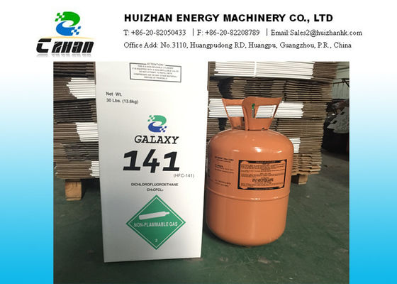 China 30LB 13.6KG R141B HCFC Refrigerants In Disposable Cylinder With OEM And Customized Acceptable distributor
