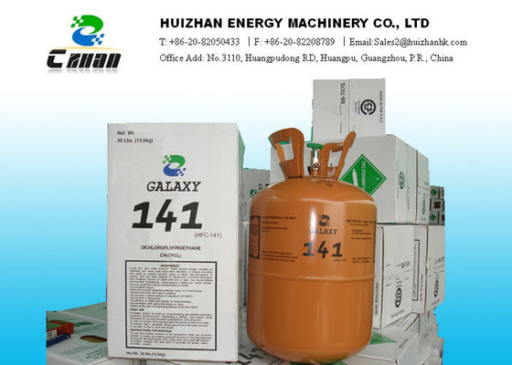 China High Purity R141B Refrigerant HCFC Refrigerants 30LB 13.6KG In Disposable Cylinder distributor