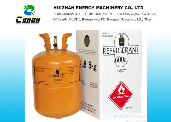 China Disposable cylinder R600A Natural Refrigerants Gas Isobutene C4H10 SGS Approved factory