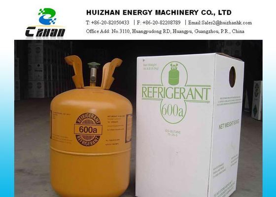 China R600A Gas Natural Refrigerants Isobutene For Household Refrigerators And Freezers factory