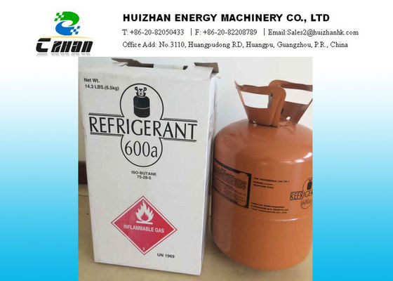 Eco friendly Natural Refrigerants Isobutene R600a Refrigerant SGS For Refrigeration