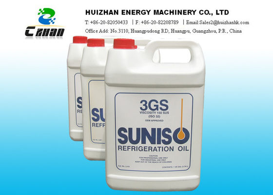 China Net Content 3.78L Suniso Lubricant Refrigerant Oil 3GS Mineral Oil with refrigerant gas factory