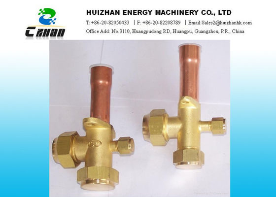 China Copper Split Air Conditioning  Valve /  Shut Off Valve For Refrigerator distributor