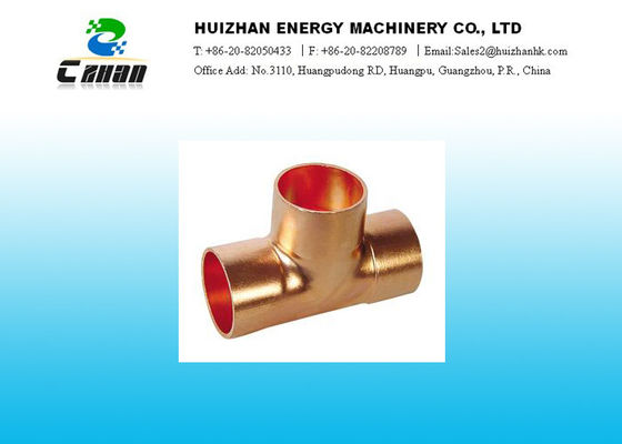 China Forged Air Conditioning Copper Tube fittings With Higher ANSI B16.22 distributor