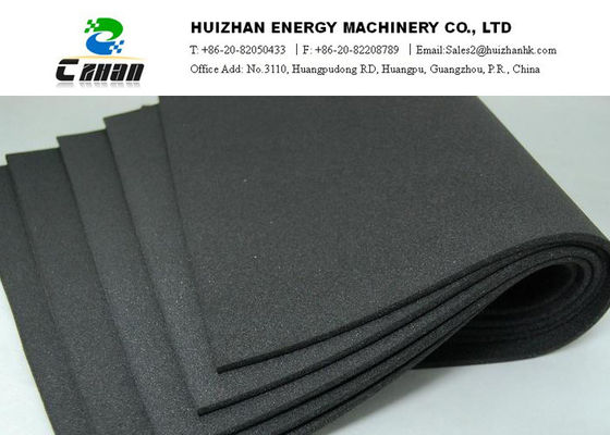 China Rubber Plastic Foam Pipe Heat Insulation Sheet  With Aluminum Foil distributor